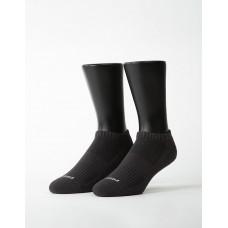 素色美學氣墊船短襪-灰色