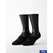 簡約時代隱形襪-黑色