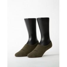 簡約時代隱形襪-綠色
