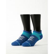 速度感輕壓力船短襪-藍色