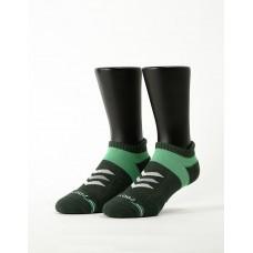 速度感輕壓力船短襪-綠色