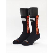 hen可以運動氣墊襪-黑色