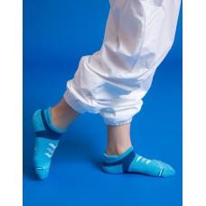 速度感輕壓力船短襪-淺藍