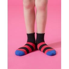 蜜蜂特攻隊運動氣墊襪-藍頭