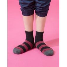蜜蜂特攻隊運動氣墊襪-深灰頭