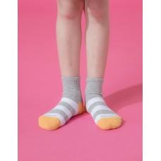 蜜蜂特攻隊運動氣墊襪-黃頭-M