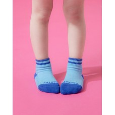 星空遊樂園氣墊襪-藍色-S