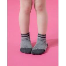 星空遊樂園氣墊襪-灰色-S