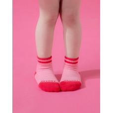 星空遊樂園氣墊襪-桃紅-S