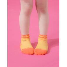 星空遊樂園氣墊襪-黃色-S