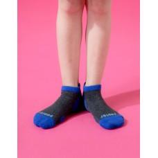 兒童運動船短襪-藍色
