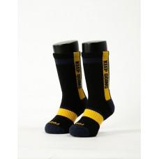 天生贏家運動氣墊襪-黑色-M