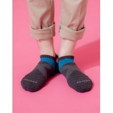 X型雙向減壓足弓船短襪-深灰
