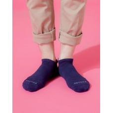 X型減壓經典護足船短襪 - 深藍