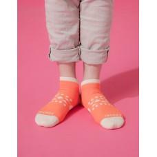 冒險家輕壓力減壓船短襪-橘色