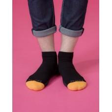 低調主義輕壓力襪-黑色