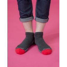 低調主義輕壓力襪-深灰