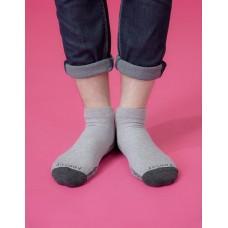 低調主義輕壓力襪-淺灰