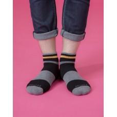 哲學家運動輕壓力襪-黑色