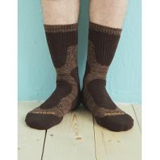 減壓顯瘦登山運動襪-咖啡