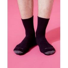 螺旋氣墊輕壓力襪-黑色