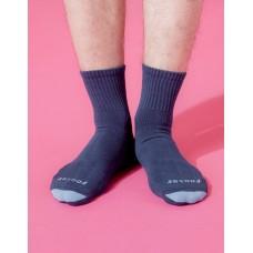 螺旋氣墊輕壓力襪-藍色