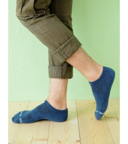 男氣墊短襪