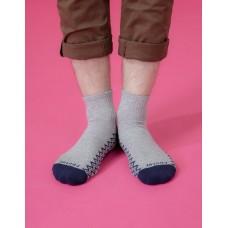 彈跳人生微分子長薄襪-灰色
