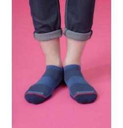潛意識運動船短襪-藍色