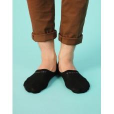 超低隱形船短襪-黑色