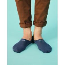超低隱形船短襪-藍色