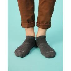 單色船型薄襪-灰色