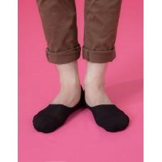 微氣墊波浪超低隱形襪-黑色