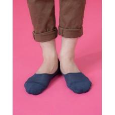 微氣墊波浪超低隱形襪-藍色