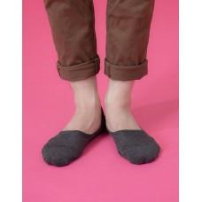 微氣墊波浪超低隱形襪-深灰