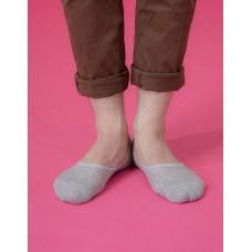 微氣墊波浪超低隱形襪-淺灰