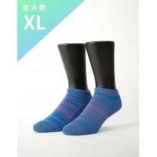 時空流沙運動船短襪-藍色-XL加大款