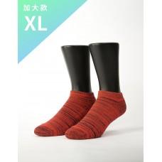 時空流沙運動船短襪-紅色-XL加大款