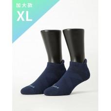 X型減壓經典護足船短襪-藍色-XL加大款