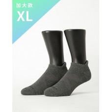 X型減壓經典護足船短襪-灰色-XL加大款
