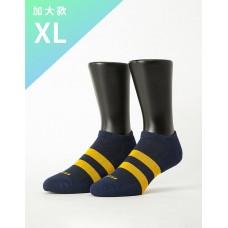 街頭運動風微分子船短襪-藍色-XL加大款