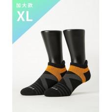 X型雙向減壓足弓船短襪-黑色-XL加大款