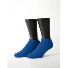 低調原色船短襪-藍色