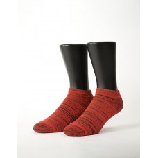 時空流沙運動船短襪-紅色