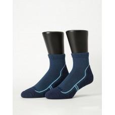 流線型氣墊減壓科技襪-藍色