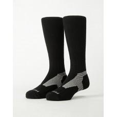 Y系列中統運動機能輕壓力襪 - 黑色