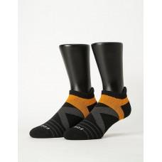 X型雙向減壓足弓船短襪-黑色