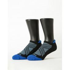X戰隊輕壓力船短襪-藍色