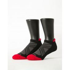 X戰隊輕壓力船短襪-紅色