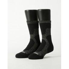 減壓顯瘦登山運動襪-黑色